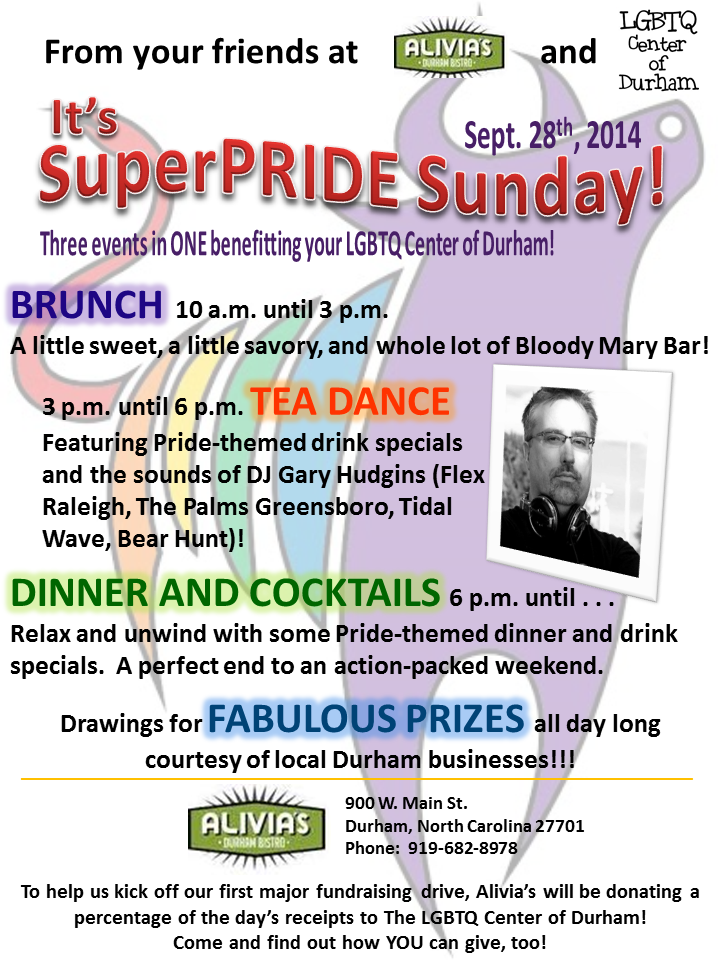 SuperPRIDE Sunday at Alivia's